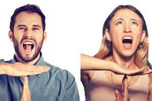 frustrated marriage needing communication skills